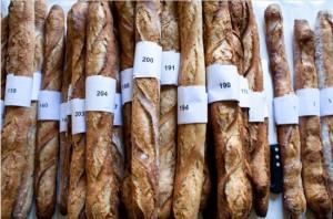 137 baguetes foram degustadas durante a vigésima edição do prêmio da melhor baguete de Paris.