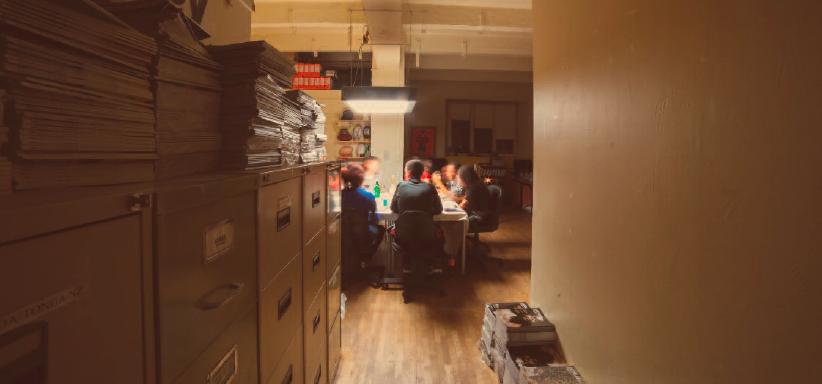 The Office - Restaurante (Table d'hôtes) secreto em Paris