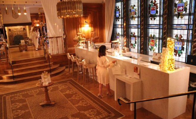 Spa Diane Barrière Deauville - Paris Secreta - Spa accueil