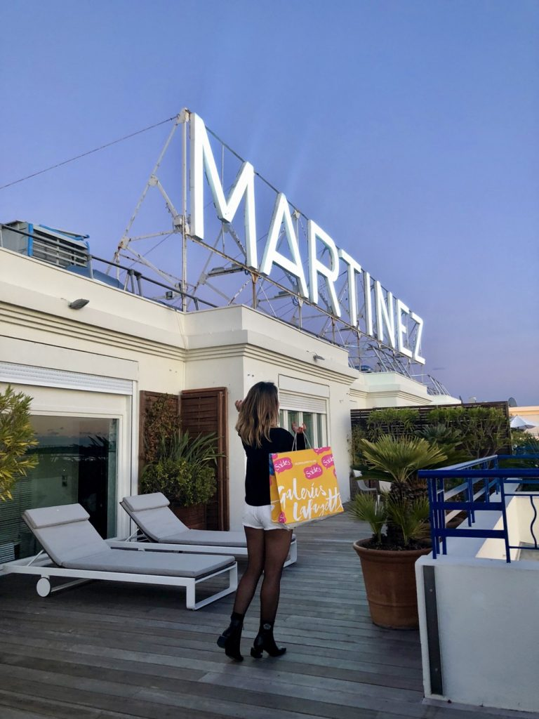 Sales and the City Cannes Hotel Martinez - Paris Secreta
