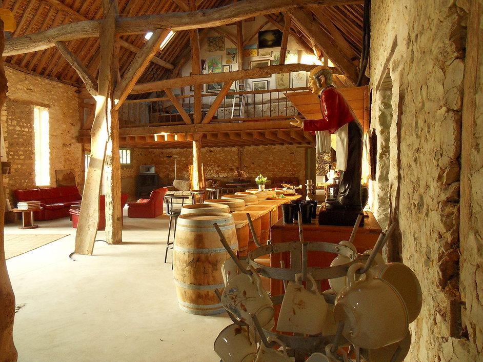 La Ferme des Isles, a sala dos hospedes